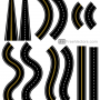 131-roads-vector-pack