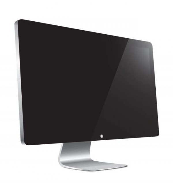 thunderbolt-display-600x635 高品位!Apple Thunderbolt Displayの無料ベクターイラスト素材