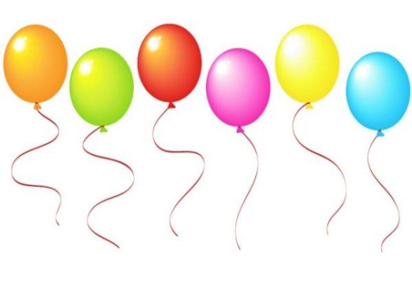 vector-baloons-600x419 6色のカラフルな風船の無料ベクタークリップアート素材