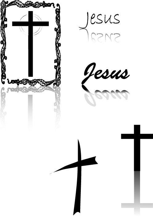 vector-cross シンプルな十字架の無料ベクターイラスト素材