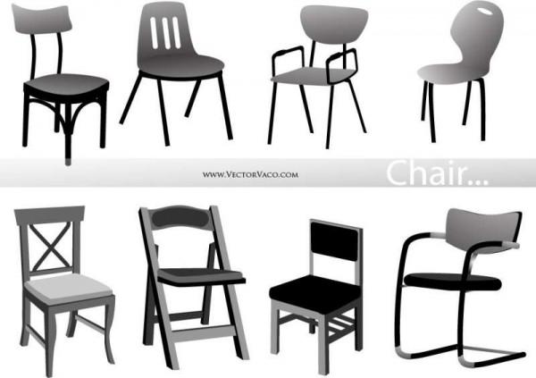 vectorvaco_chair_vectors_09102901-600x423 無料ベクタークリップアート。様々な1人がけチェアーのイラスト素材8個